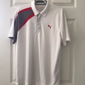 Men's PUMA Dry Cell Short Sleeve Golf Shirt ✌️